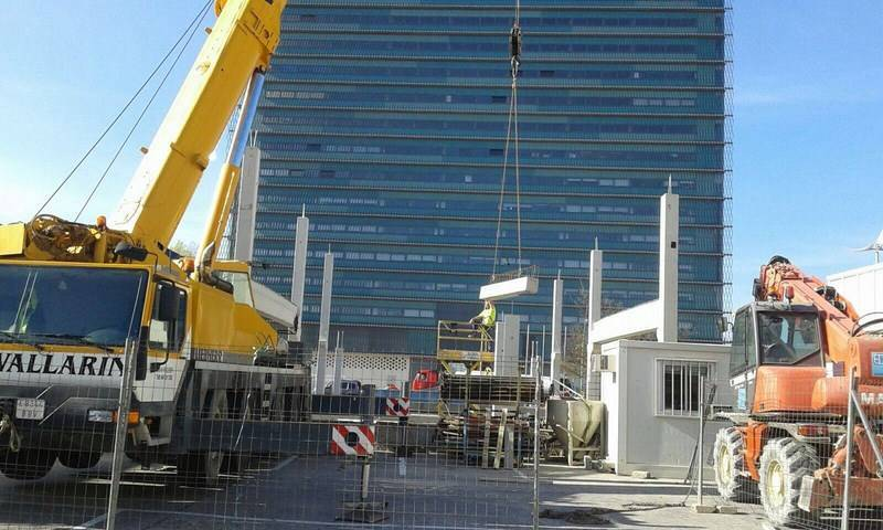 Construcción Edificio Comercial LR NAVES