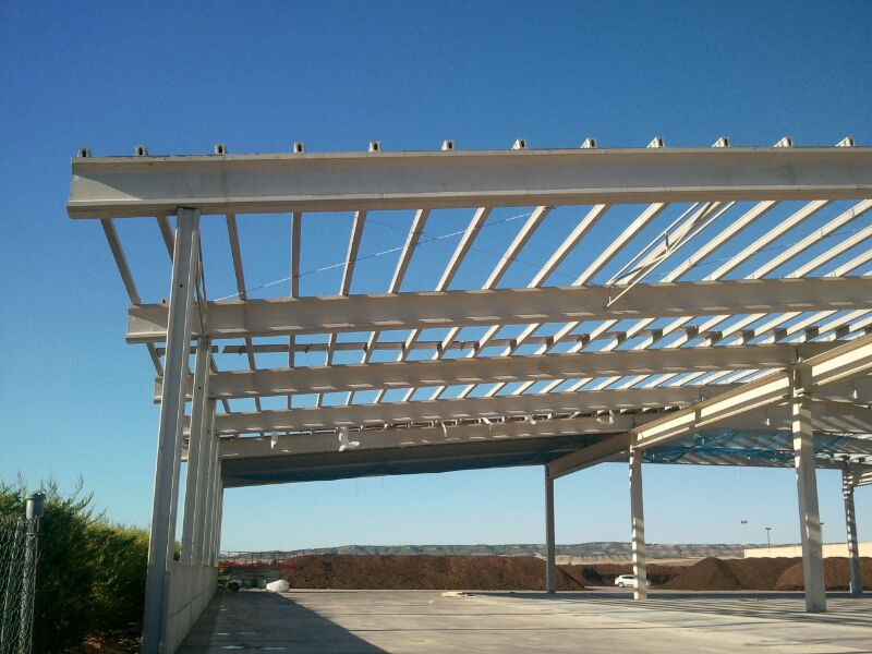 Estructura de hormigón en Carcar Navarra