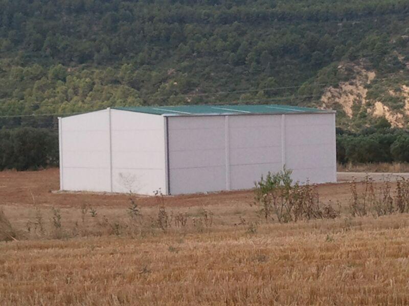 Nave agrícola Biscarrués Huesca
