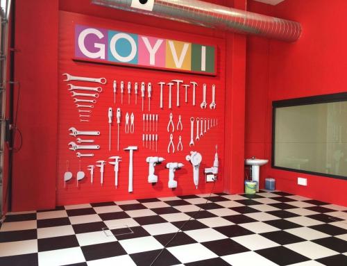 Finalizamos los trabajos en Goyvi